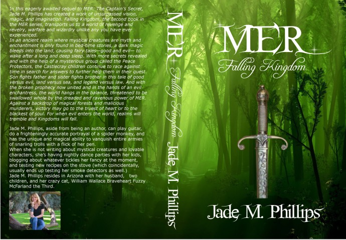 MER: FALLING KINGDOM  by Author Jade M. Phillips